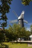 Alford, Lincolnshire, Vereinigtes Königreich im Juli 2017 Ansicht von Alford Windmill lizenzfreie stockfotos