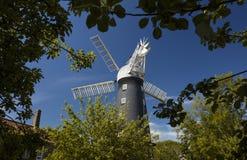 Alford, Lincolnshire, Vereinigtes Königreich im Juli 2017 Ansicht von Alford Windmill stockbild