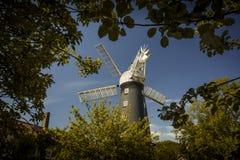Alford, Lincolnshire, Vereinigtes Königreich im Juli 2017 Ansicht von Alford Windmill lizenzfreie stockfotografie