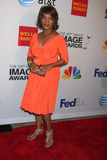 Alfre Woodard. LOS ANGELES - FEB 11:  Alfre Woodard arrives at the NAACP Image Awards Nominees Reception at the Beverly Hills Hotel on February 11, 2012 in Stock Photo