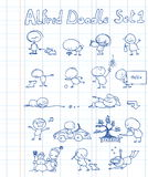 Alfred Doodle Set 1 Stock Image