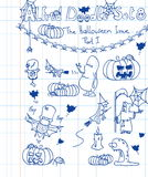 Alfred Doodle Set 8 Royalty Free Stock Photography