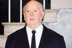 Alfred Hitchcock wax figure Stock Photos
