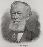 Alfred Krupp foto de archivo