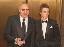 Alfred Molina y Eddie Redmayne en el 64.o Tonys anual en 2010 Fotografía de archivo