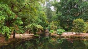 Alfred Nicholas Memorial Gardens Royalty-vrije Stock Foto's