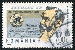 Alfred Nobel Fotografia Stock Libera da Diritti