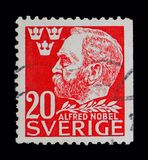 Alfred Nobel serie, circa 1946 Arkivfoto