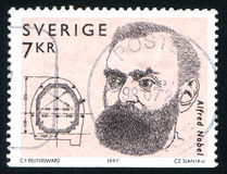 Alfred Nobel Royalty Free Stock Image