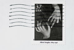 Alfred Stieglitz Stamp Stock Photo