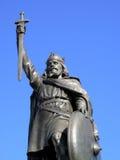 alfred wielka królewiątka statua obraz royalty free