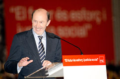 Alfredo Perez Rubalcaba, Barcelona, Spain Stock Image