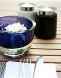 alfresco äta middag Royaltyfria Bilder