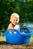 Alfresco bathing Royalty Free Stock Photography
