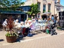 Alfresco Weymouth, Dorset Fotografering för Bildbyråer