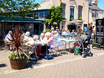Alfresco, Weymouth, Dorset. Stock Image