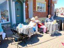 Alfresco, Weymouth, Dorset. Stock Photo