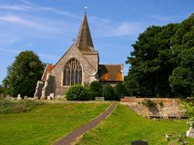 Alfriston Church Royalty Free Stock Photo