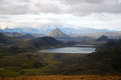 Alftavatn lake, Iceland. Stock Photo