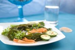Alga con le verdure 4 Fotografie Stock