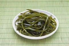 alga del wakame Immagini Stock Libere da Diritti