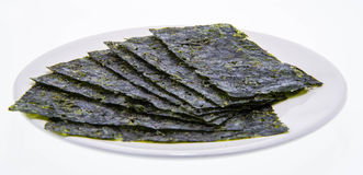 Alga marina de Corea, comida de Corea foto de archivo libre de regalías