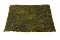 Alga seca para o sushi Imagem de Stock