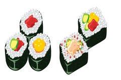Alga Sushi Stock Images