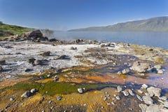 Algae at Lake Bogoria, Kenya Stock Photo