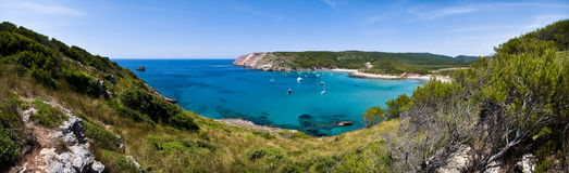 Algairens beach Royalty Free Stock Image