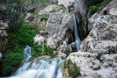 Algar nedgångar Region Alicante spain Arkivbild
