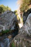 Algar springbrunnAlicante landskap, Valensia, Spanien Fotografering för Bildbyråer