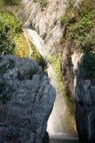 Algar springbrunnAlicante landskap, Valensia, Spanien Royaltyfria Bilder