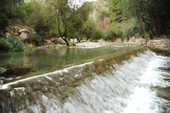 Algar waterfall. Near benidorm and altea Royalty Free Stock Images