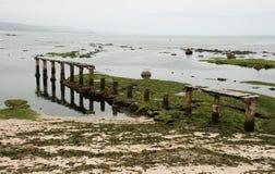 Algarrobo-Strand Stockfoto