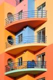 algarve五颜六色的葡萄牙 免版税库存照片