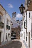 algarve法鲁老葡萄牙村庄 免版税库存照片