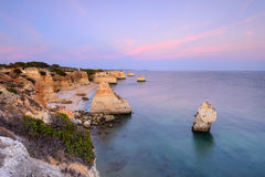 Algarve amazing beach seascape Royalty Free Stock Photo