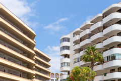 Algarve apartment blocks Stock Image
