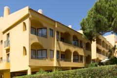 Algarve apartment blocks Royalty Free Stock Image