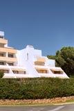Algarve apartment blocks Royalty Free Stock Photo