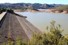 algarve arade barragem执行葡萄牙 图库摄影