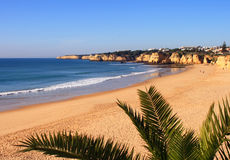 Algarve Armacao beach Stock Images