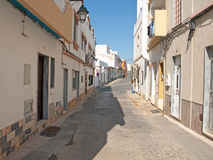 Algarve Backstreet 1. A Typical Backstreet in Alvor on the Algarve Portugal Royalty Free Stock Images