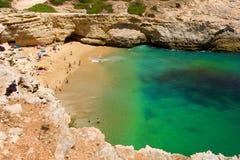 Algarve beach Stock Photography