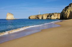 Algarve beach Caneiros Royalty Free Stock Image