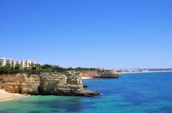 Algarve beach da Senhora da Rocha Stock Image