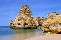 Algarve beach marinha Royalty Free Stock Image