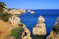 Algarve beach marinha Royalty Free Stock Photography