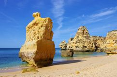 Algarve beach marinha Stock Photography